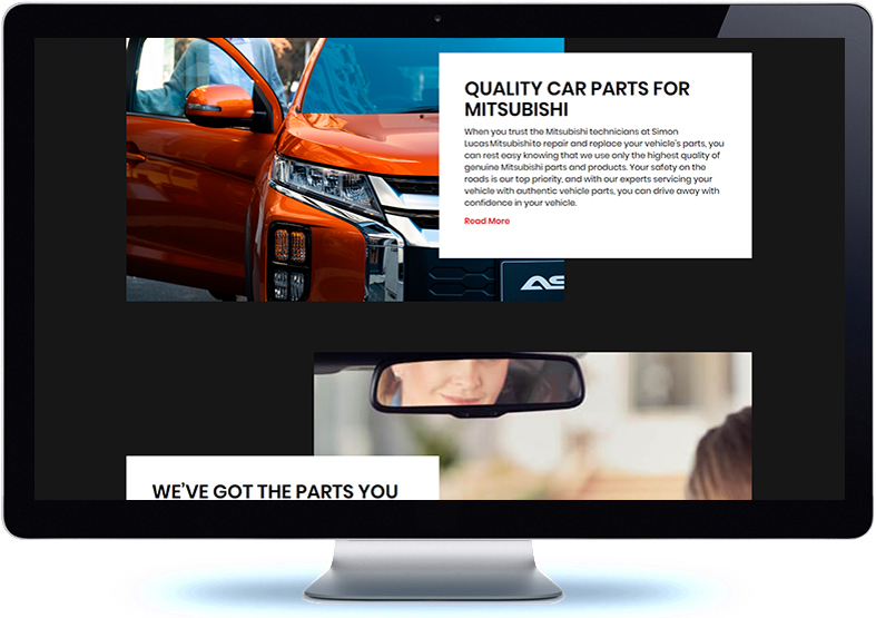 Mitsubishi Dealer Website