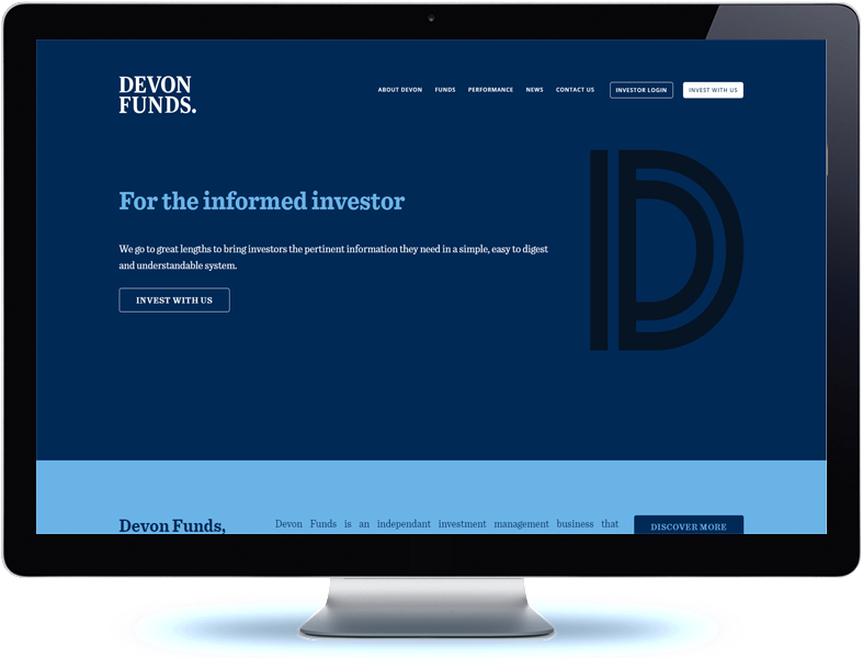 Devon Funds Management - Koda Web Design Auckland