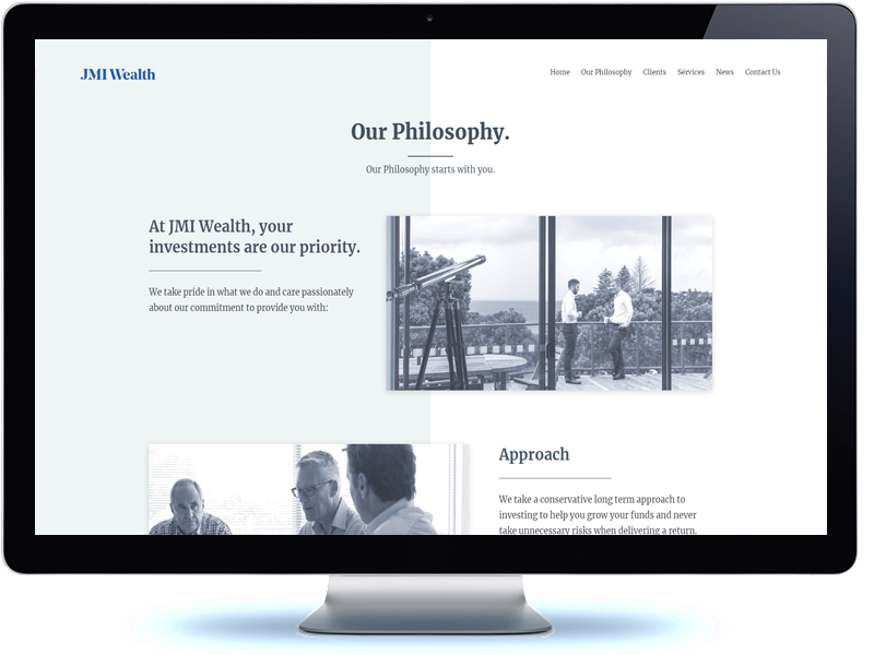 JMI Wealth - Koda Web Design Auckland