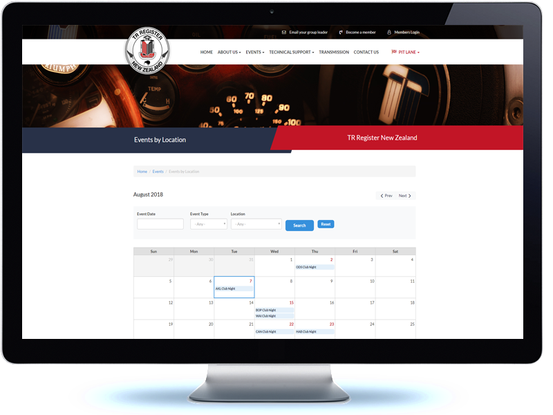 TR Register - Koda Web Design Auckland