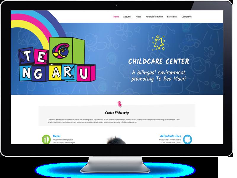 Te Ngaru Childcare Center - Koda Web Design Auckland