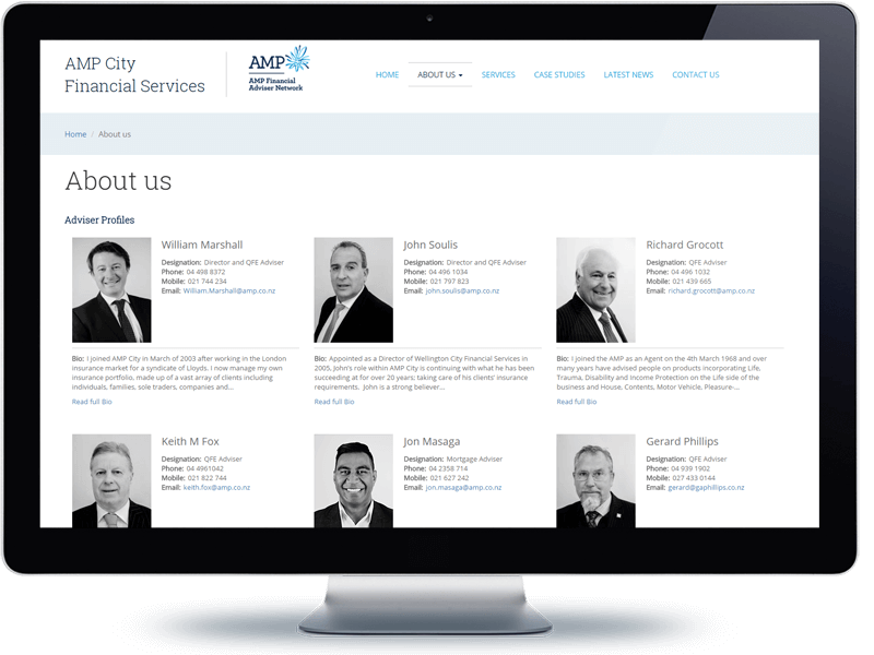 AMP City - Koda Web Design Auckland