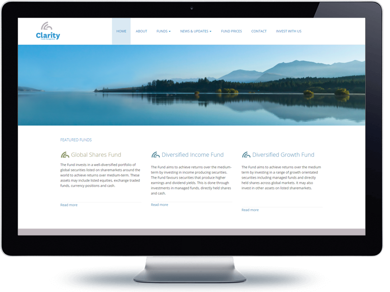 Clarity - Koda Web Design Auckland
