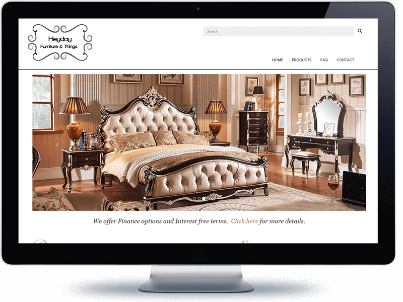 Heyday furniture koda web design and development north shore auckland Home furniture online auckland