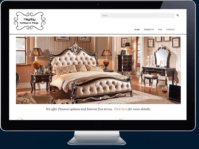 Heyday Furniture - Koda Web Design Auckland