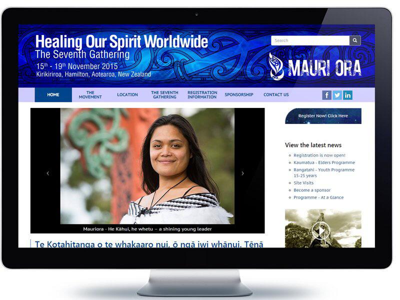 Healing Our Spirit Worldwide - Koda Web Design Auckland