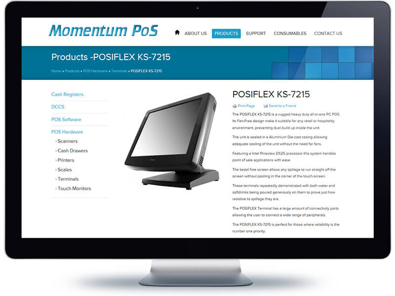 Product Page - MPOS - Koda Web Auckland