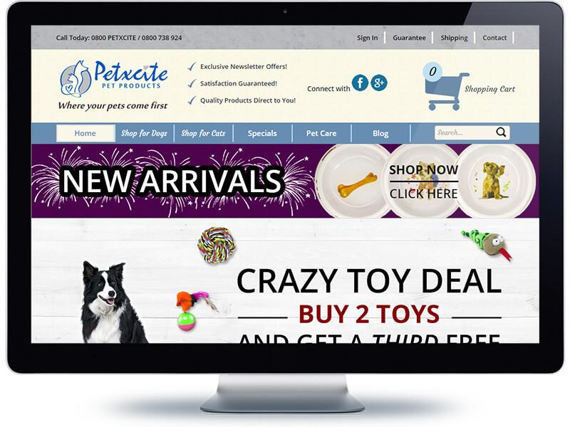 Petxcite - Koda Web Design Auckland