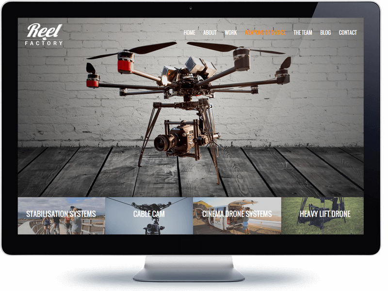 Reel Factory - Koda Web Design Auckland