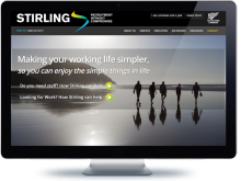 Stirling Recruitment - Koda Web Design Auckland
