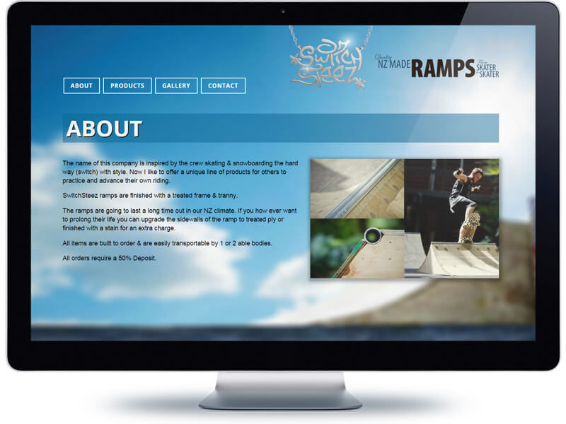Switch Steez Ramps - Koda Web Design Auckland