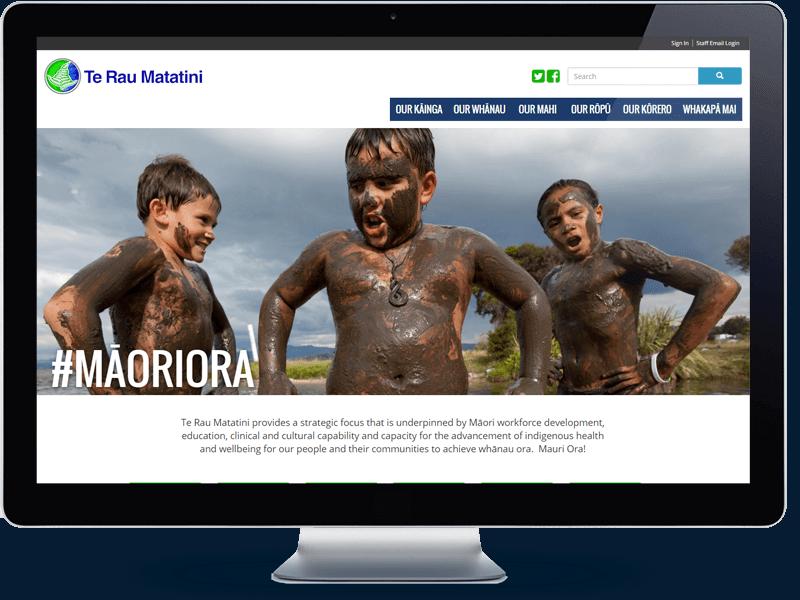 Te Rau Matatini - Koda Web Auckland